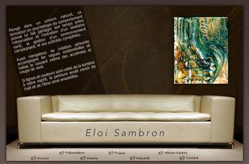 le site d'Eloi Sambron, peintre