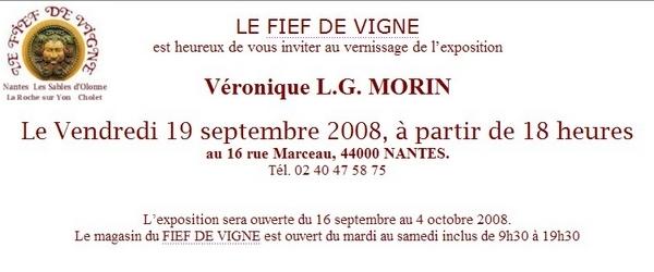 Véronique LG Morin au Fief de Vigne, à Nantes