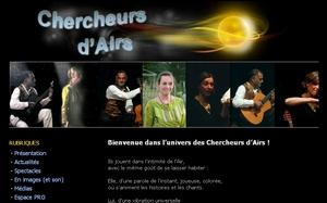 Chercheurs d'Airs, duo conteuse et musicien