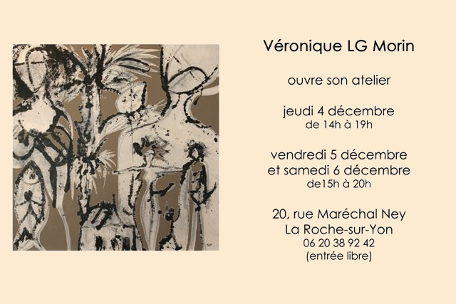 Véronique LG Morin ouvre son atelier