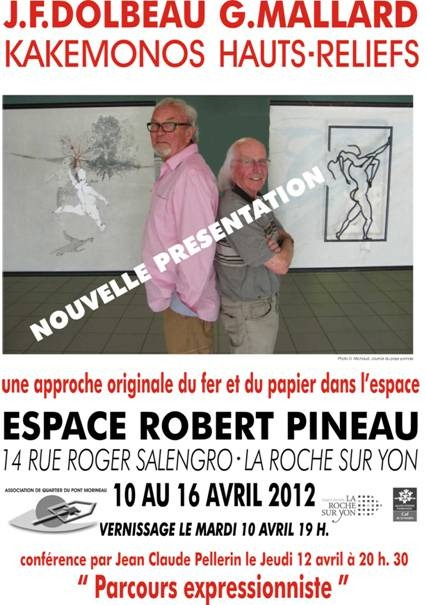 expo Robert Pineau avril 2012